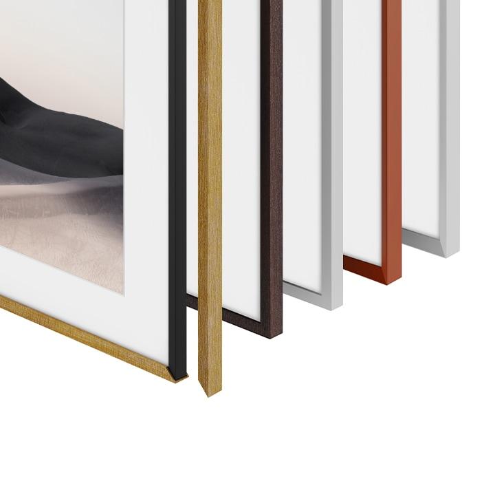 frame bezel options